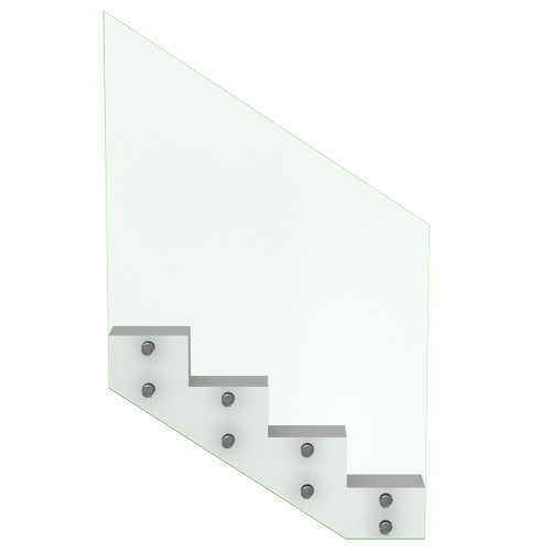 Garde-Corps Escalier Tout Verre