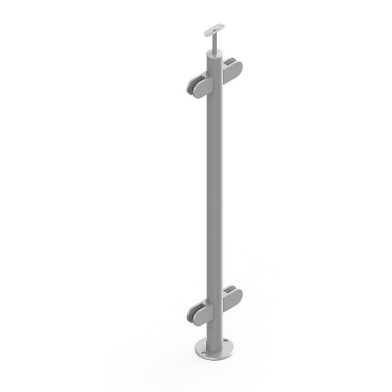 Poteaux pour Verre Pose à Plat sur Escalier