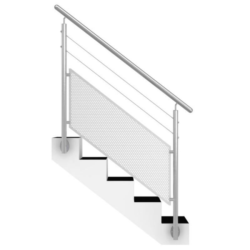 Rampe Escalier Extérieur En Inox
