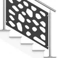 Rampe Escalier Extérieur inox
