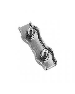 Pontet sur platine ronde Inox A2-inoxdesign