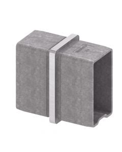 RACCORD DE JONCTION POUR TUBE RECTANGULAIRE IN106-274-04