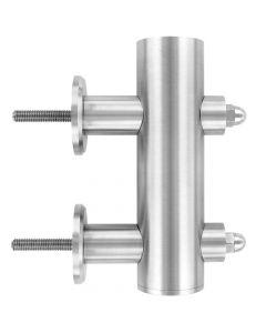 Element d'ancrage lateral pour poteau