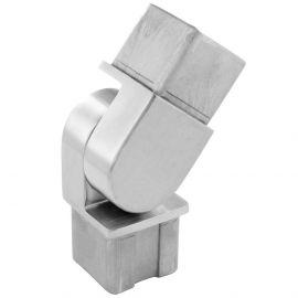 raccord orientable pour tube carré