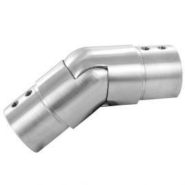 RACCORD ARTICULE DE TUBE INOX À FOND DE GORGE