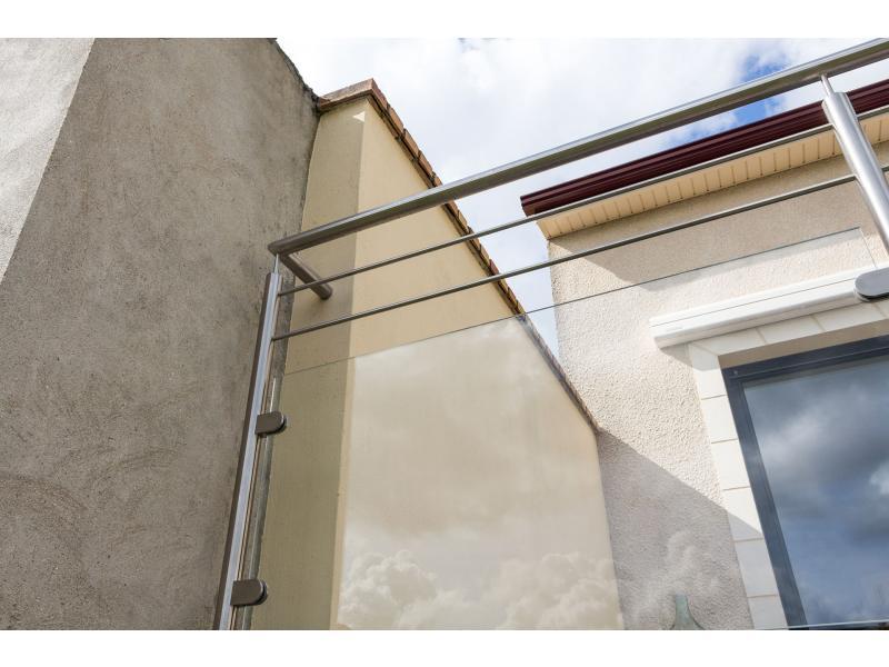 balustrade verre terrasse