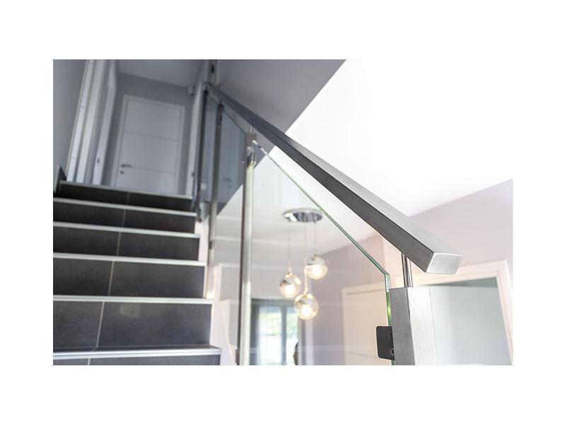 garde corps rampe d escalier verre design