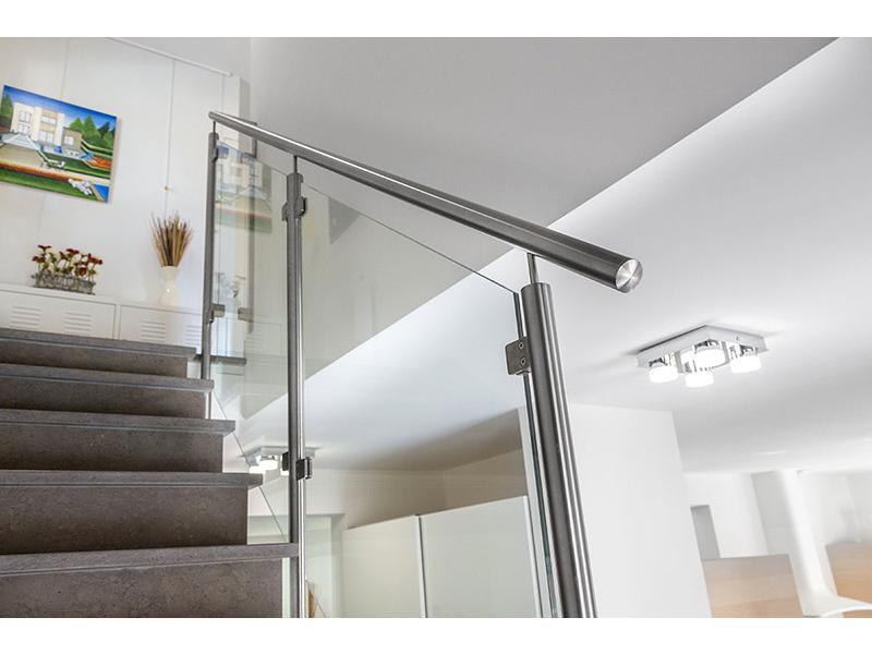 rampe d escalier verre design