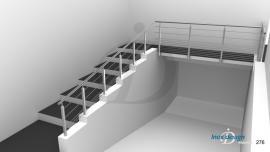 Garde-Corps Escalier Extérieur ERP