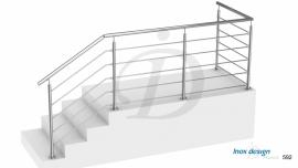 Garde-Corps Escalier Palier Extérieur