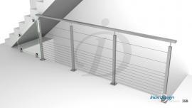 garde corps de tremie escalier Mezzanine N°3