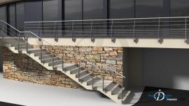 Balustrade Terrasse Escalier Design