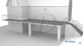 Garde-Corps Terrasse Moderne