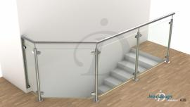 garde corps de tremie escalier Mezzanine N°18