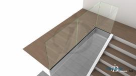 garde corps de tremie escalier Mezzanine N°10