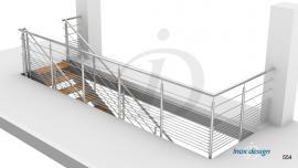 garde corps de tremie escalier Mezzanine N°13