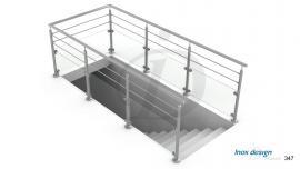 garde corps de tremie escalier Mezzanine N°121