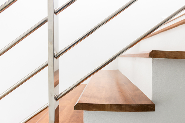 Ramp escalier en inox