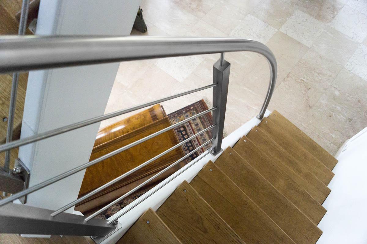 comment choisir une rampe d'escalier