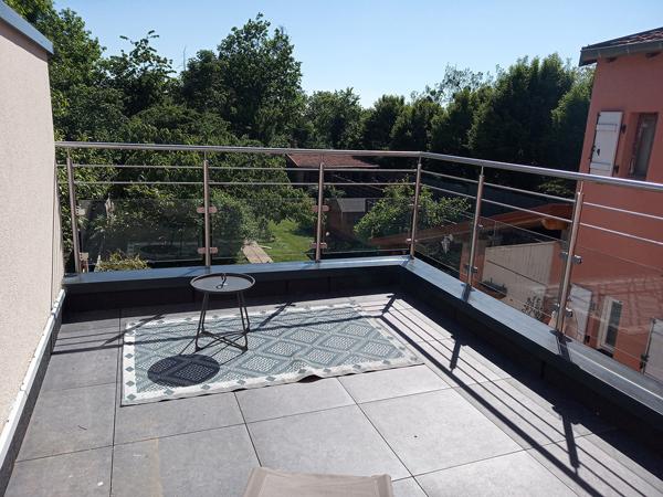 Garde-corps de balcon sur mesure par Inox Design