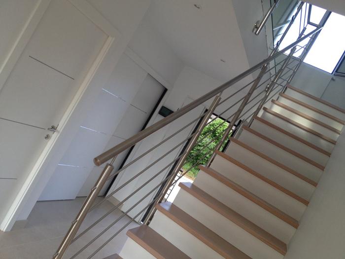 choisir une rampe d'escalier