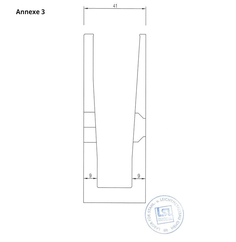 test profil de sol garde corps annexe 3