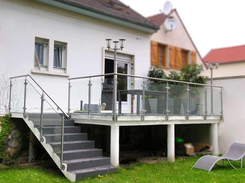 Balustrade et Garde-Corps Terrasse Extérieure