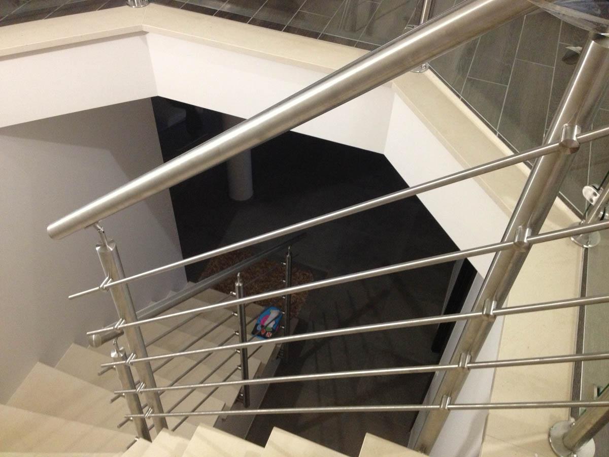 rampe escalier moderne
