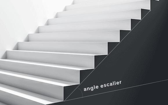 angle escalier