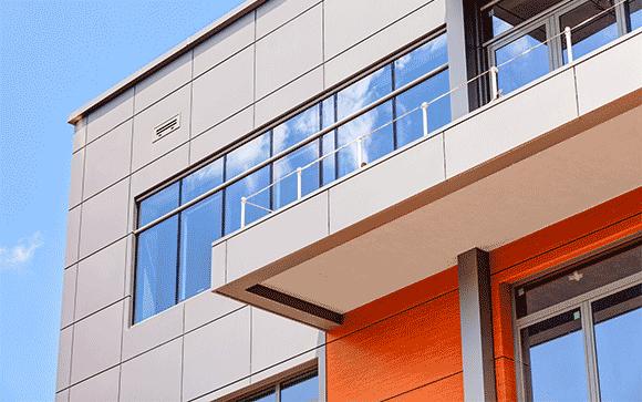 bardage facade usine