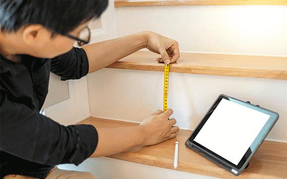 comment bien calculer les marches de son escalier