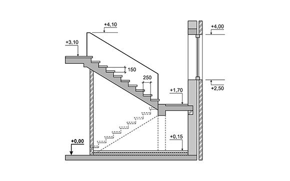 calcul de son escalier