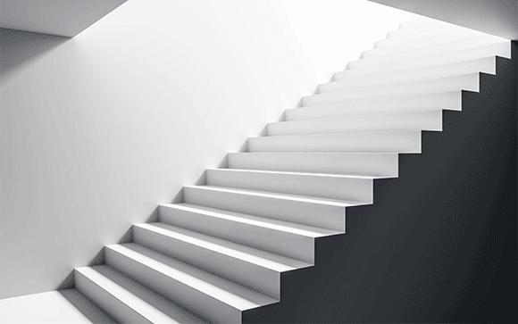calculer un escalier