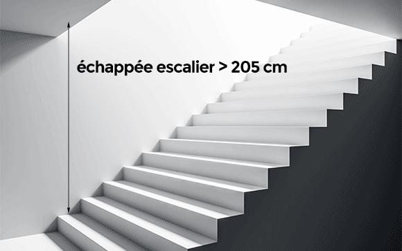 ECHAPPEE ESCALIER