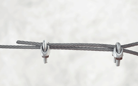 fixation cable inox