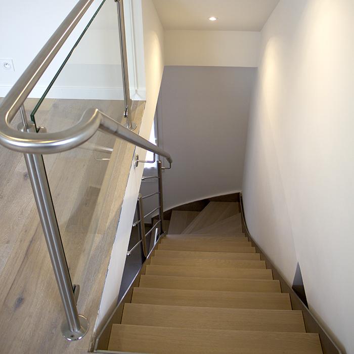 inox 304 idéal pour vos balustrades intérieures