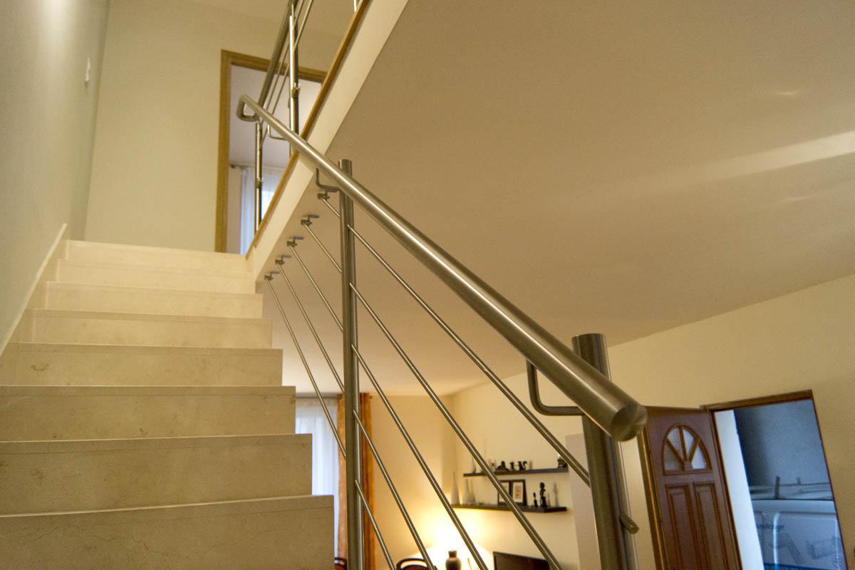 hauteur rampe escalier