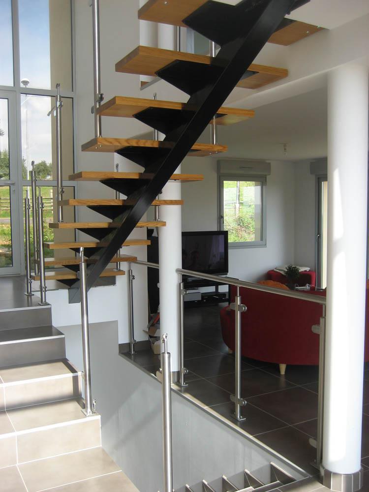 obtenir un escalier industriel
