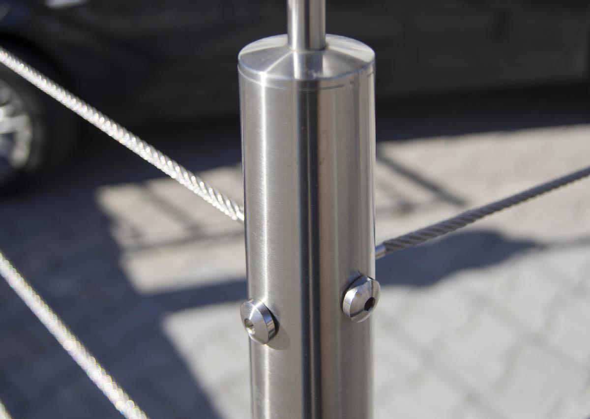 diamètre du câblage en inox