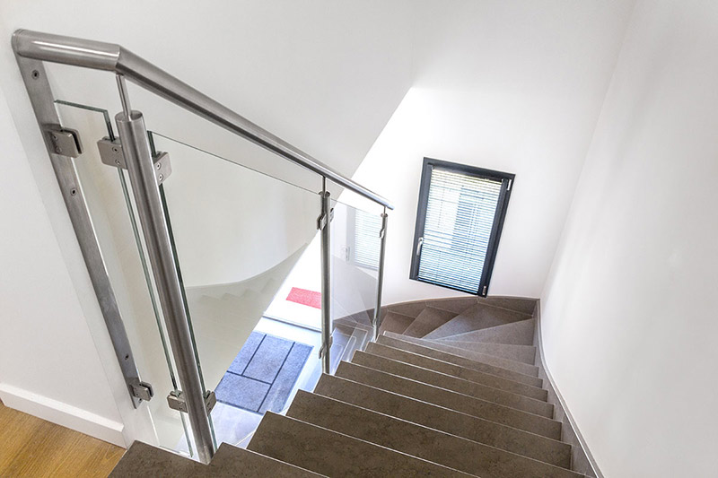 Rampe Et Rambarde Escalier Verre