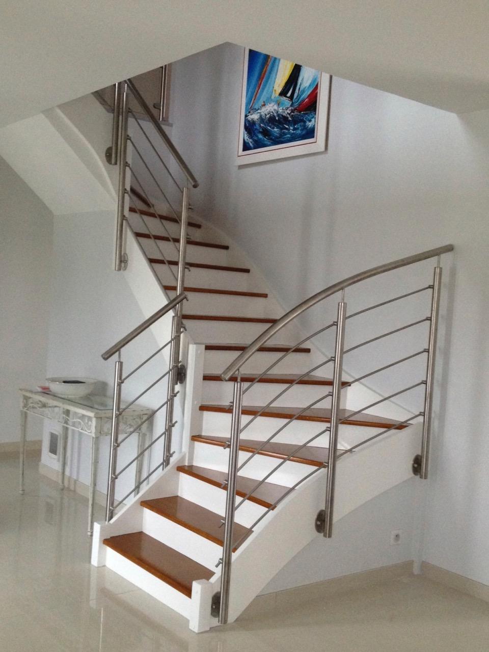 renovation d'un escalier bois