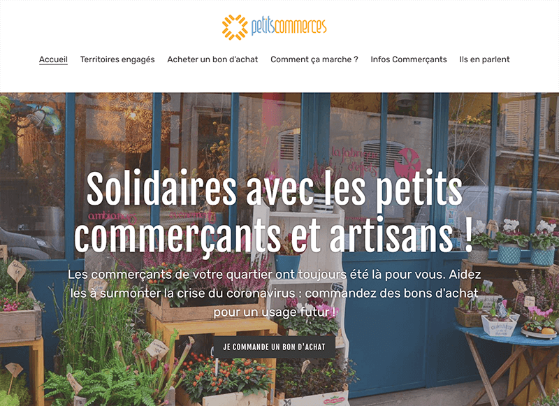 petits commerces solidaires